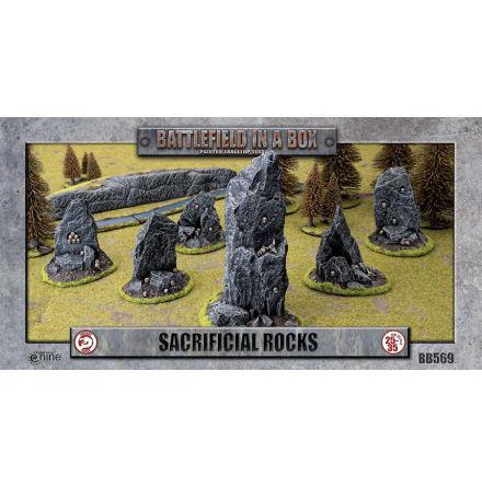 Sacrificial Rocks (x6) - 30mm scale