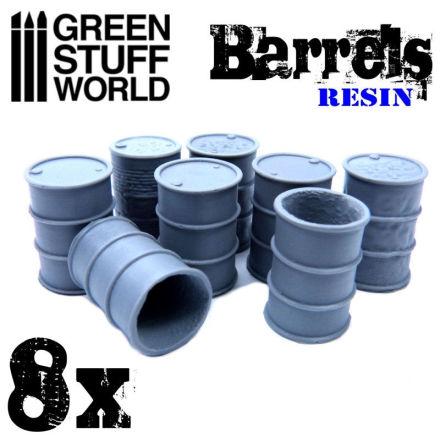 8x Resin Barrels