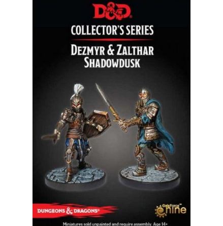 D&D 5th ed: Waterdeep Dungeon of the Mad Mage: Zalthar & Dezmyr Shadowdusk