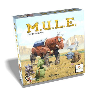 M.U.L.E. The Board Game (ENG)