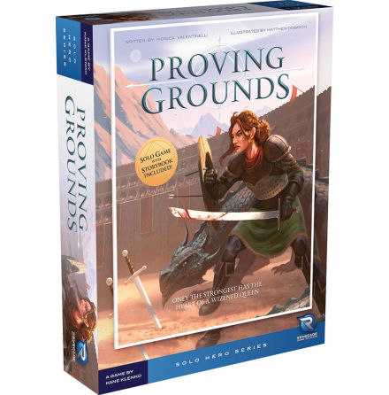 Solo Hero Series: Proving Grounds (1st ed)