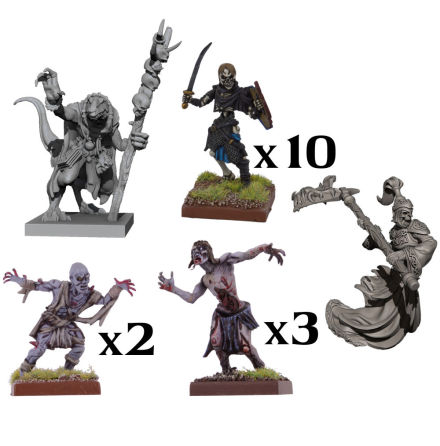VANGUARD: Undead Warband Set