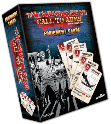 THE WALKING DEAD: Call to Arms Equipment Cards