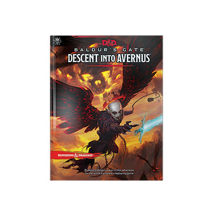 D&D 5th Descent into Avernus HC