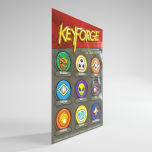 Keyforge Aries Deck Box Black