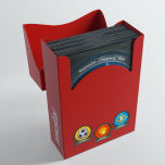 Keyforge Aries Deck Box Red