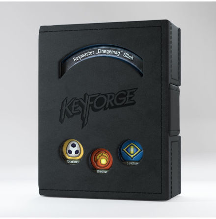 Keyforge Deck Book Black