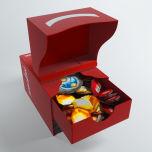 Keyforge Gemini Deck Box Red