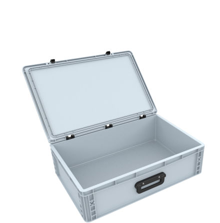 DSEB165G EUROCONTAINER CASE / EURO BOX WITH HANDLE ED 64/17 1G
