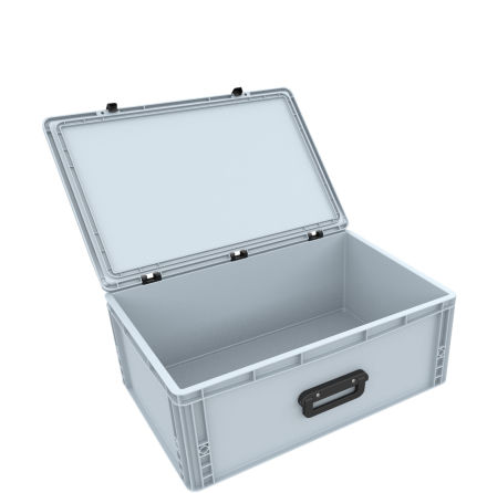 DSEB215G EUROCONTAINER CASE / EURO BOX WITH HANDLE ED 64/22 1G