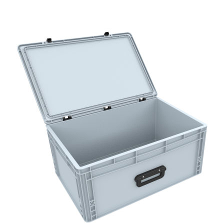 DSEB265G EUROCONTAINER CASE / EURO BOX WITH HANDLE ED 64/27 1G