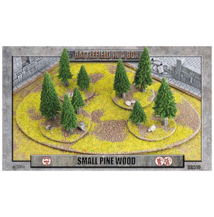 Small Pine Wood (10-15 mm scale)