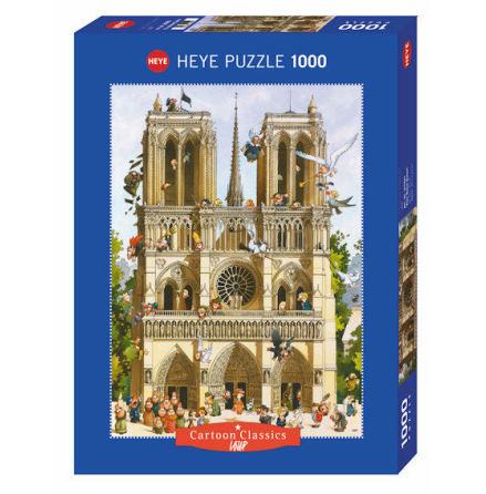 Loup, Vive Notre Dame! Standard 1000 pieces
