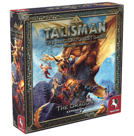 Talisman: The Dragon (Nytryck 2020)