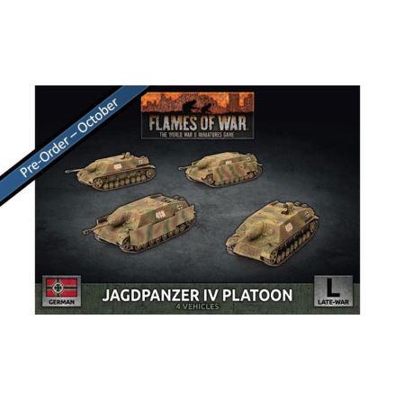 Jagdpanzer IV Tank-Hunter Platoon (x4)