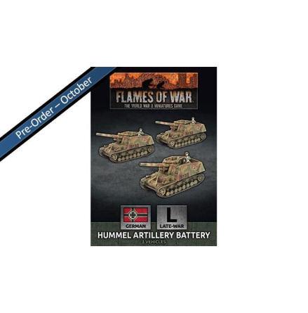Hummel 15cm SP Artillery Battery (x3)