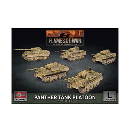 Panther A (Early) (x5 Plastic)