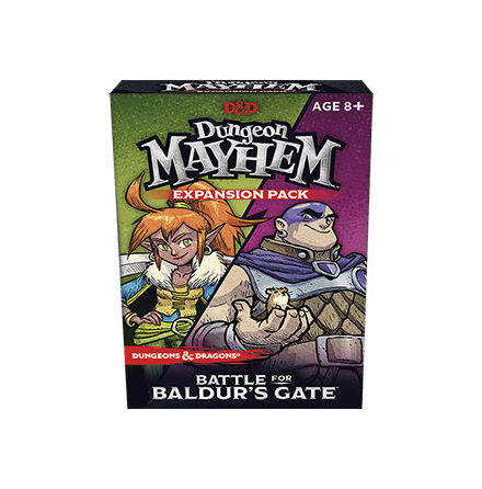 Dungeon Mayhem Baldurs Gate Expansion