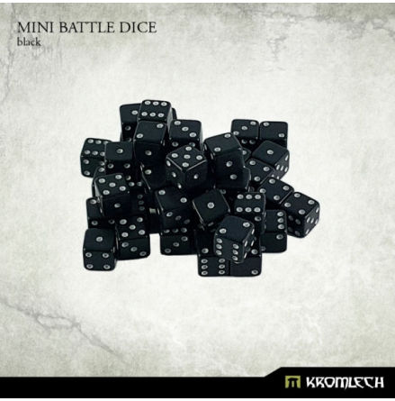 Kromlech Black Mini Battle Dice