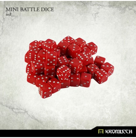 Kromlech Red Mini Battle Dice