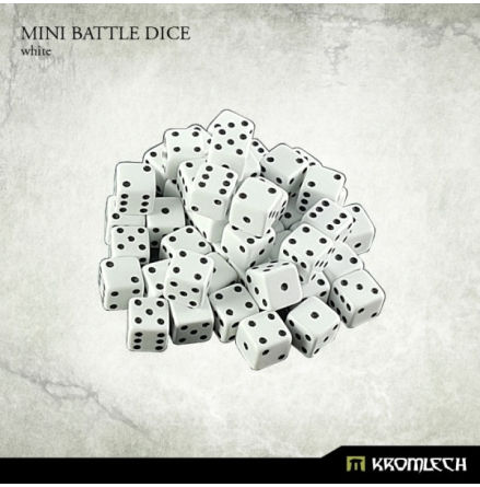 Kromlech White Mini Battle Dice