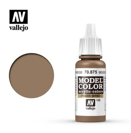 BEIGE BROWN (VALLEJO MODEL COLOR)