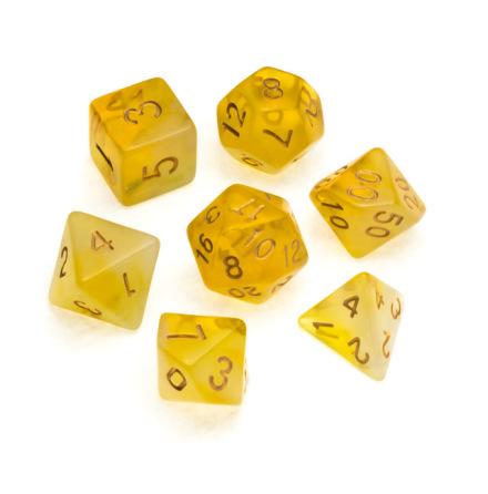 Nebula Series: Yellow - Numbers: Gold