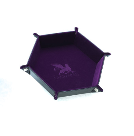 Dice Tray Hexagon Series: Purple
