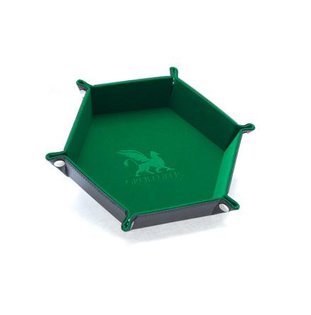 Dice Tray Hexagon Series: Green