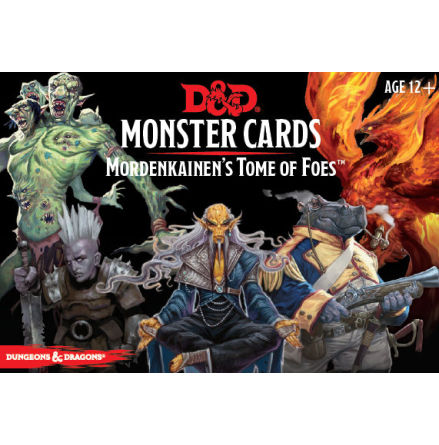 D&D 5th Monster Cards Mordenkainens Tome of Foes