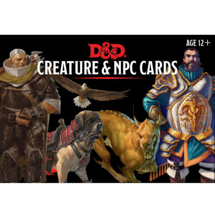 D&D 5th Monster Cards NPCs & Creatures