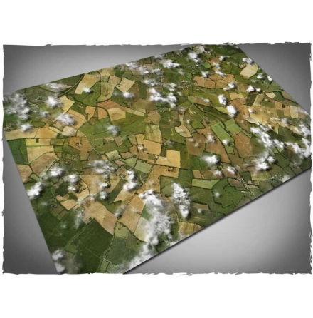 DeepCut Game mat – Aerial Fields (6x4 foot)