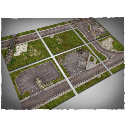 DeepCut Game mat – Aerial Fields (6x4 foot, cut to 2x2 squares)