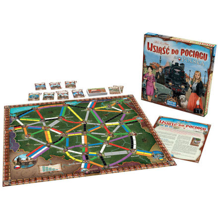 Ticket to Ride: Map Collection 6.5 Poland