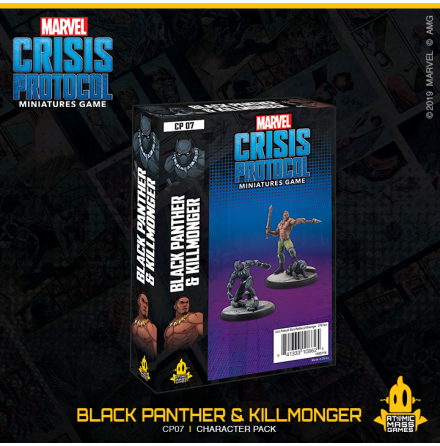 Marvel Crisis Black Panther & Killmonger