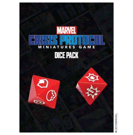 Marvel Crisis Dice Pack