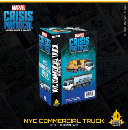 Marvel Crisis Garbage Truck/Chem Truck