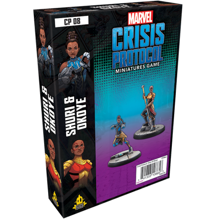 Marvel Crisis Okoye & Shuri