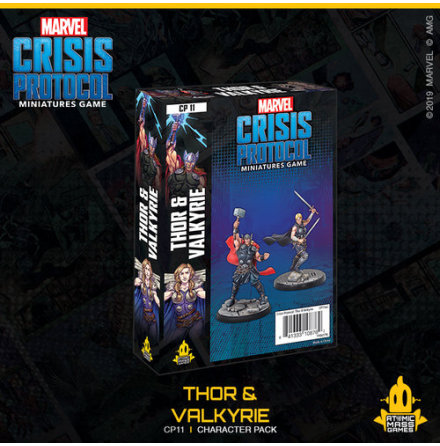 Marvel Crisis Thor & Valkyrie