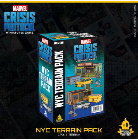 Marvel Crisis NYC Terrain Expansion