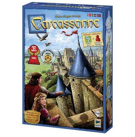 Carcassonne 2.0: Grundspel (Scand)