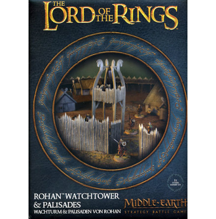 MIDDLE-EARTH SBG: ROHAN WATCHTOWER & PALISADES