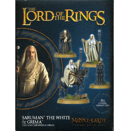 MIDDLE-EARTH SBG: SARUMAN THE WHITE & GRIMA
