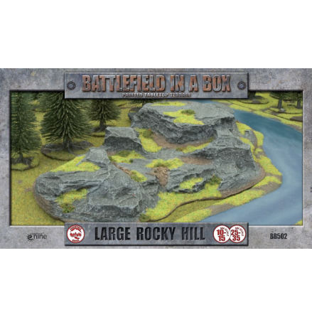 Large Rocky Hill (10-35 mm scale)