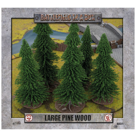 Large Pine Wood (25-35 mm scale)