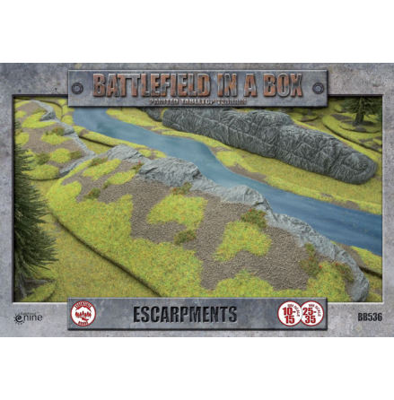 Escarpments (10-35 mm scale)