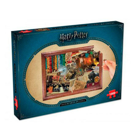 Puzzle - Harry Potter: Hogwarts (1000 pieces)
