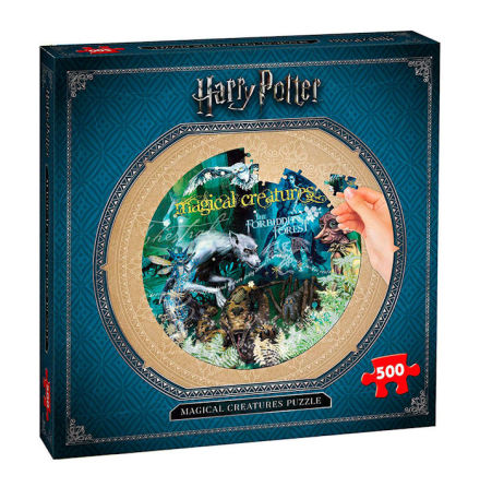Puzzle - Harry Potter: Magical Creatures (500 pieces)