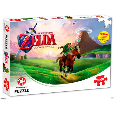 Puzzle - The Legend of Zelda: Ocarina of Time (1000 pieces)