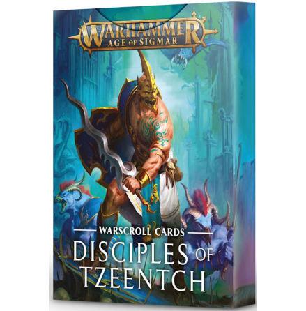WARSCROLLS: DISCIPLES OF TZEENTCH (ENG)